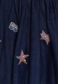 Benetton - SKIRT - A-snit nederdel/ A-formede nederdele - dark blue - 5