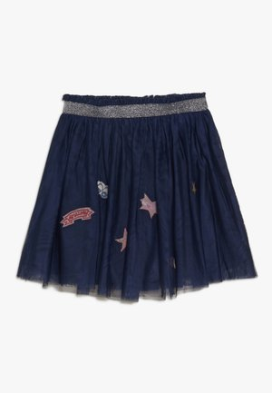 SKIRT - Falda acampanada - dark blue