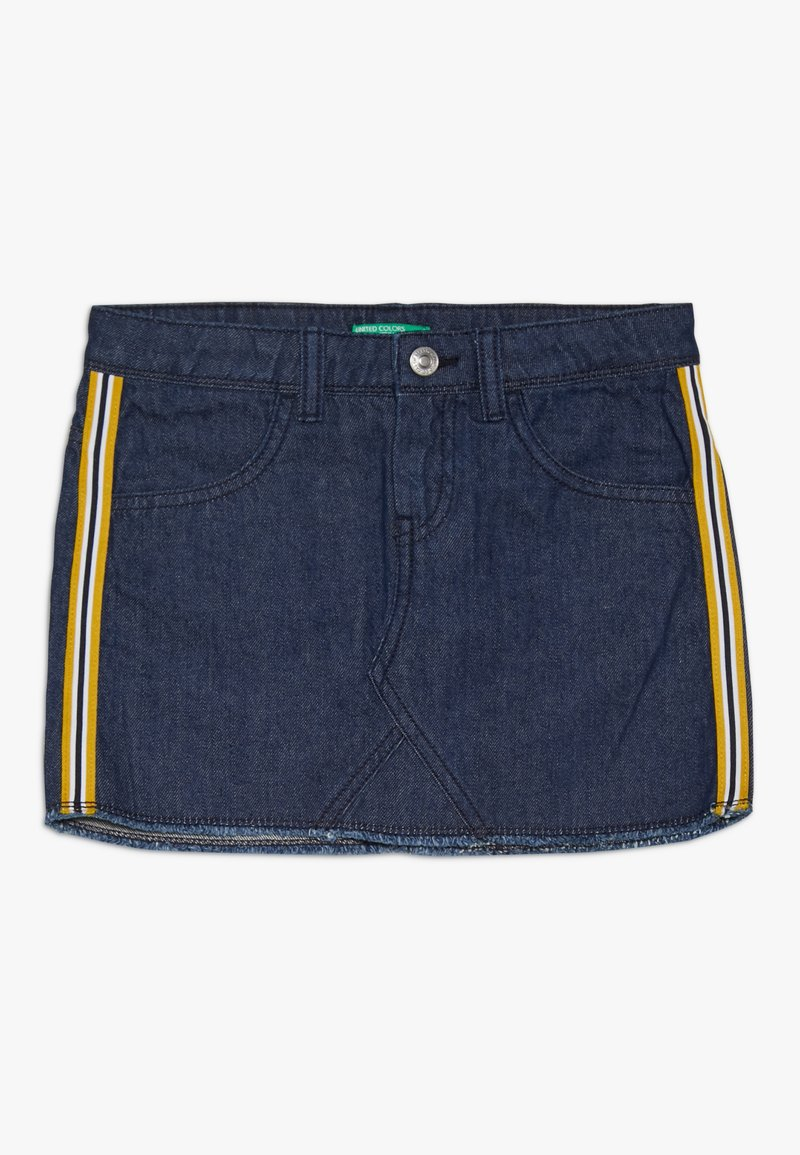 Benetton - Mini skirts  - dark blue