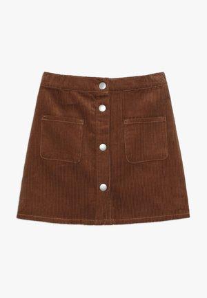 SKIRT - A-lijn rok - brown