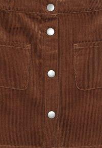 Benetton - SKIRT - Áčková sukně - brown - 3