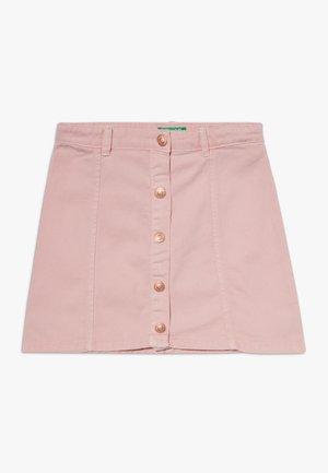 SKIRT - Mini skirt - light pink
