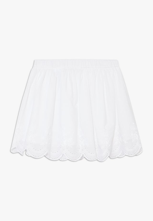 SKIRT - Gonna a campana - white