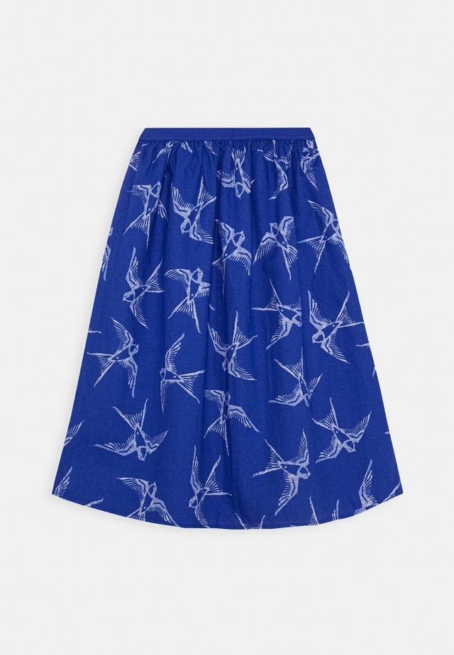SKIRT - A-lijn rok - blue