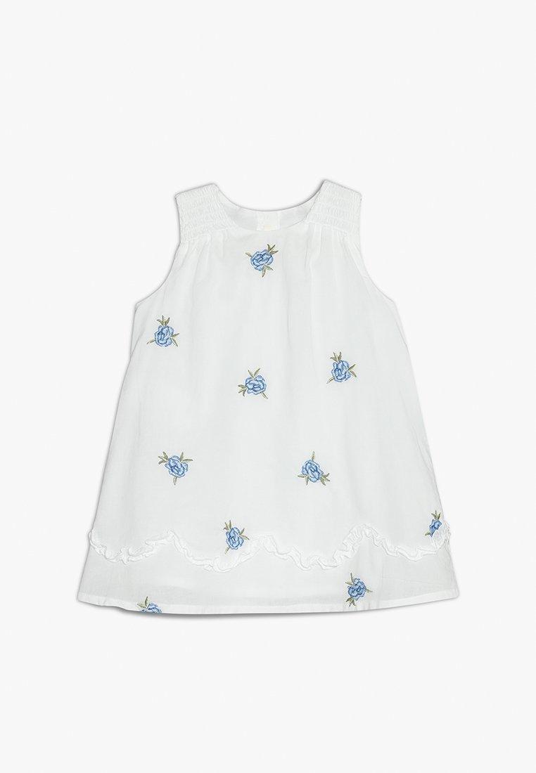 Benetton - DRESS - Day dress - white