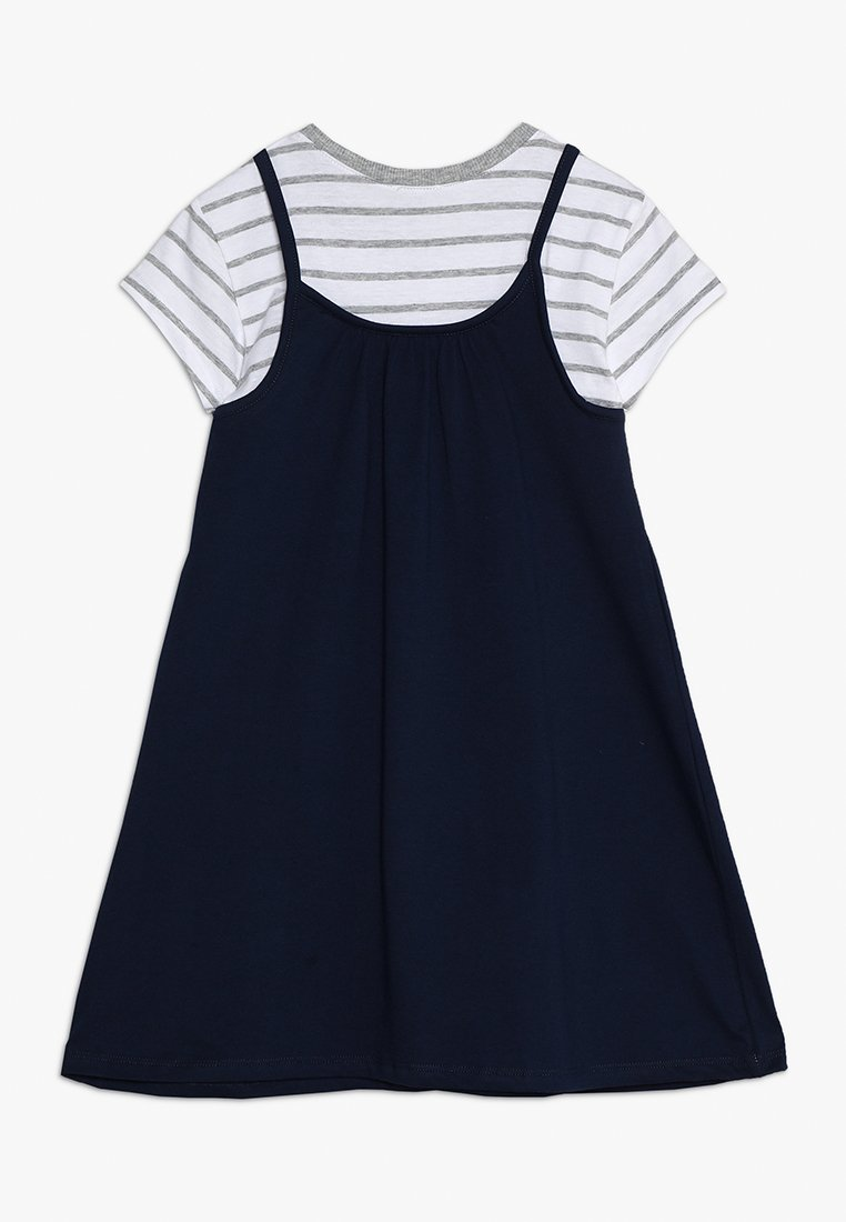 Benetton - DRESS - Vestito di maglina - dark blue