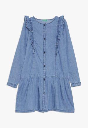 DRESS - Robe en jean - light-blue denim