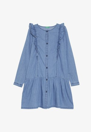 DRESS - Spijkerjurk - light-blue denim