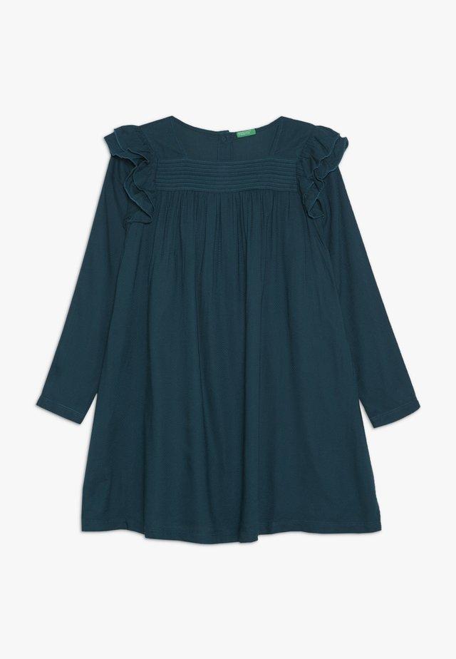 DRESS - Korte jurk - petrol