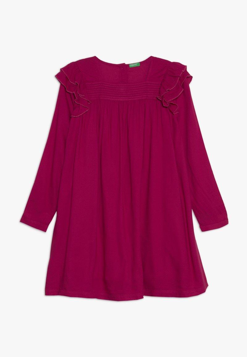 Benetton - DRESS - Sukienka letnia - red