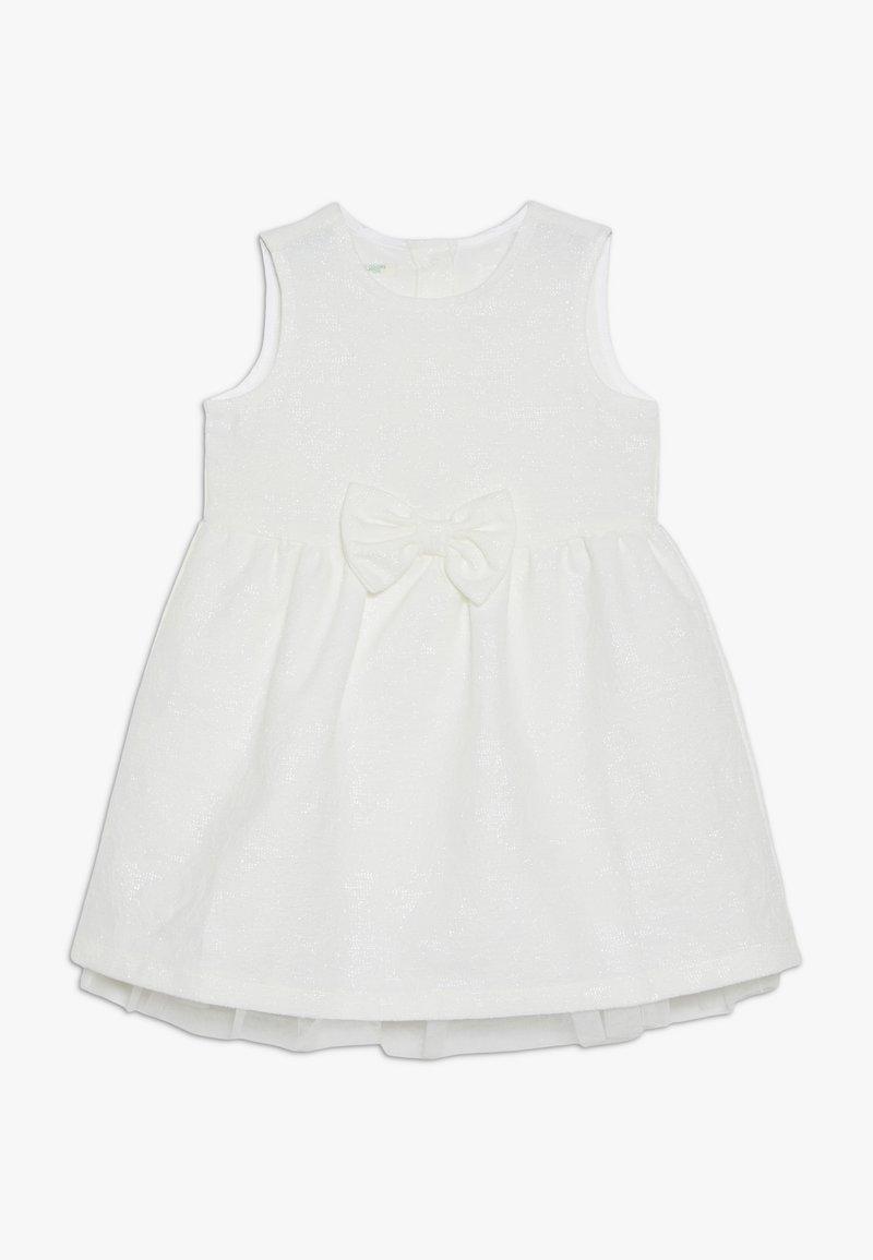 Benetton - DRESS - Cocktail dress / Party dress - off-white