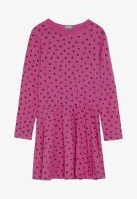 Benetton - DRESS - Jersey dress - pink - 3