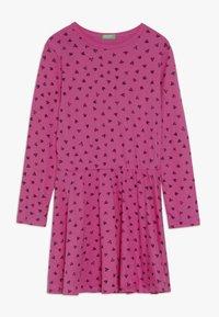 Benetton - DRESS - Jersey dress - pink - 0