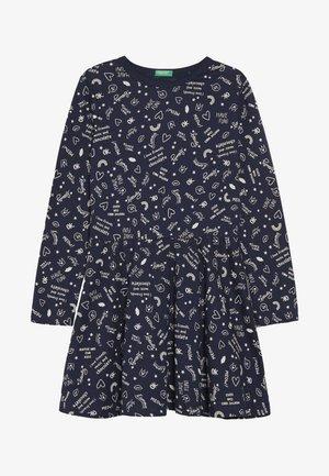 DRESS - Žerzejové šaty - dark blue
