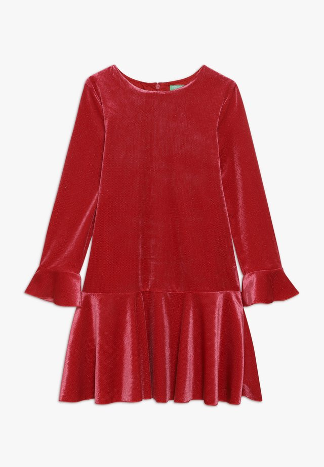 DRESS - Cocktailkjoler / festkjoler - red