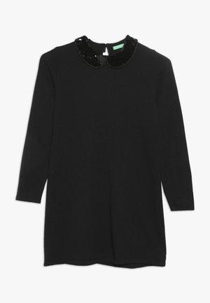 DRESS - Gebreide jurk - dark blue