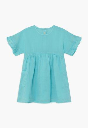 Košilové šaty - coral