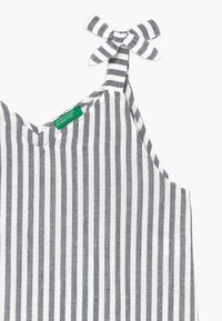 Benetton - Korte jurk - white/black - 3