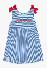 Benetton - DRESS - Jerseyjurk - blue - 0