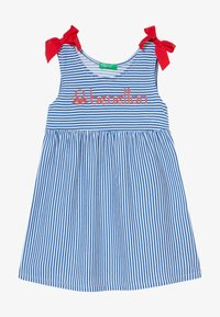 Benetton - DRESS - Jerseyjurk - blue
