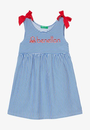 DRESS - Jerseykjole - blue