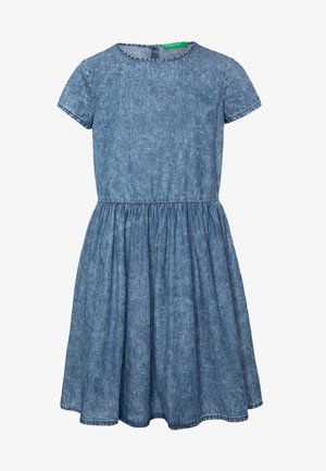 DRESS - Dongerikjole - blue denim