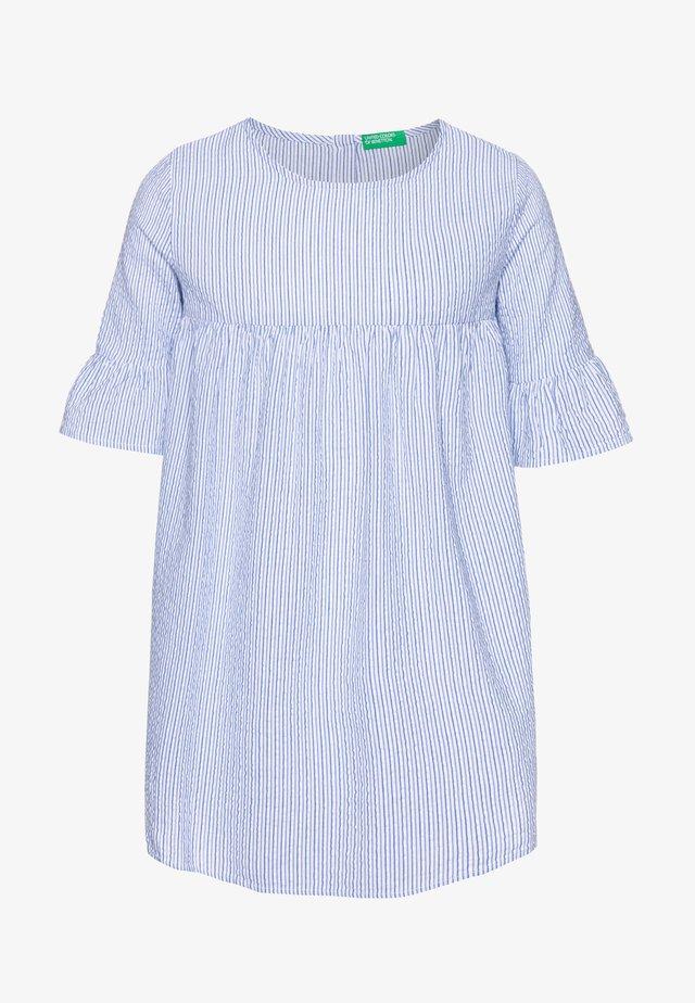 DRESS - Blousejurk - light blue