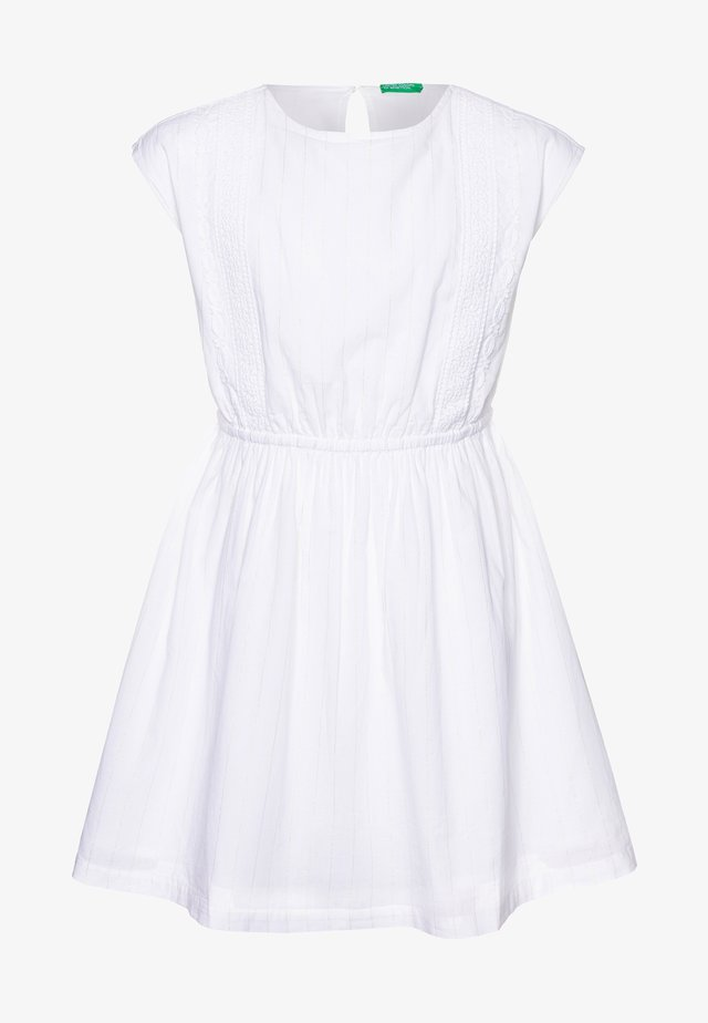 DRESS - Korte jurk - white