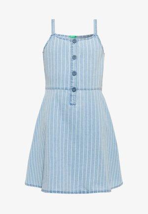 DRESS - Jeanskjole / cowboykjoler - light-blue denim