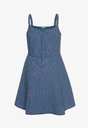 DRESS - Robe en jean - dark-blue denim