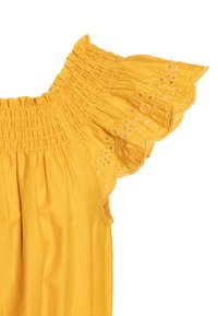 Benetton - DRESS - Korte jurk - mustard yellow - 2