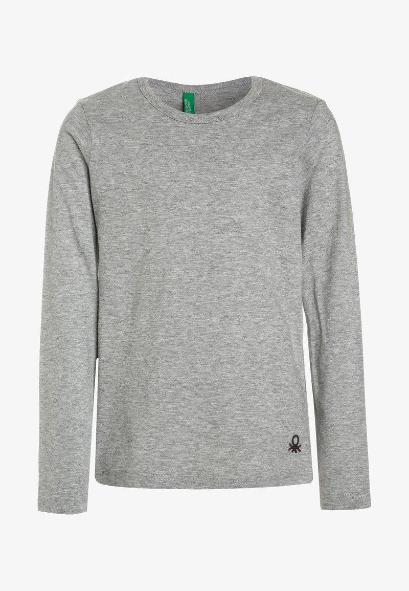 Benetton - Langærmede T-shirts - grey