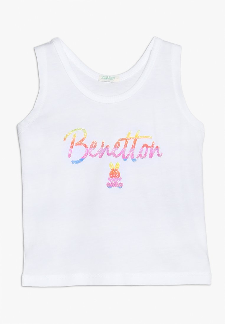 Benetton - TANK - Toppe - white
