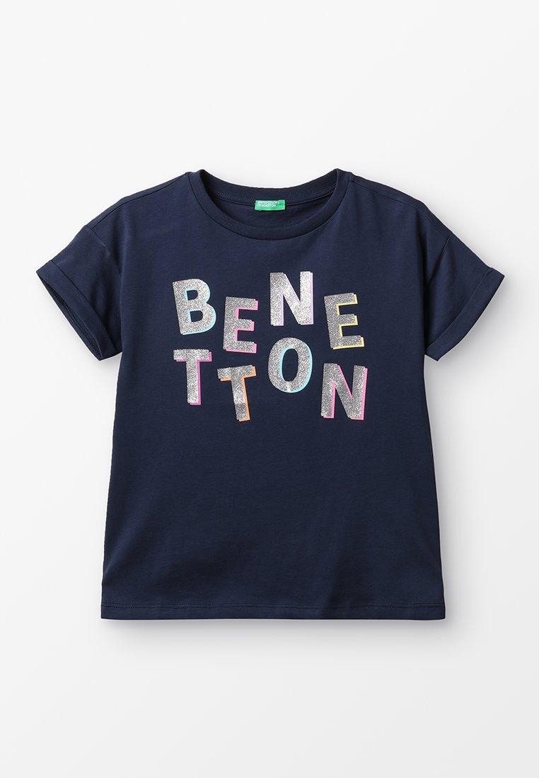 Benetton - T-Shirt print - dark blue