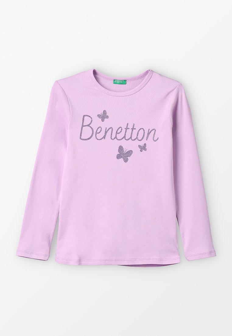 Benetton - BASIC - Long sleeved top - lilac