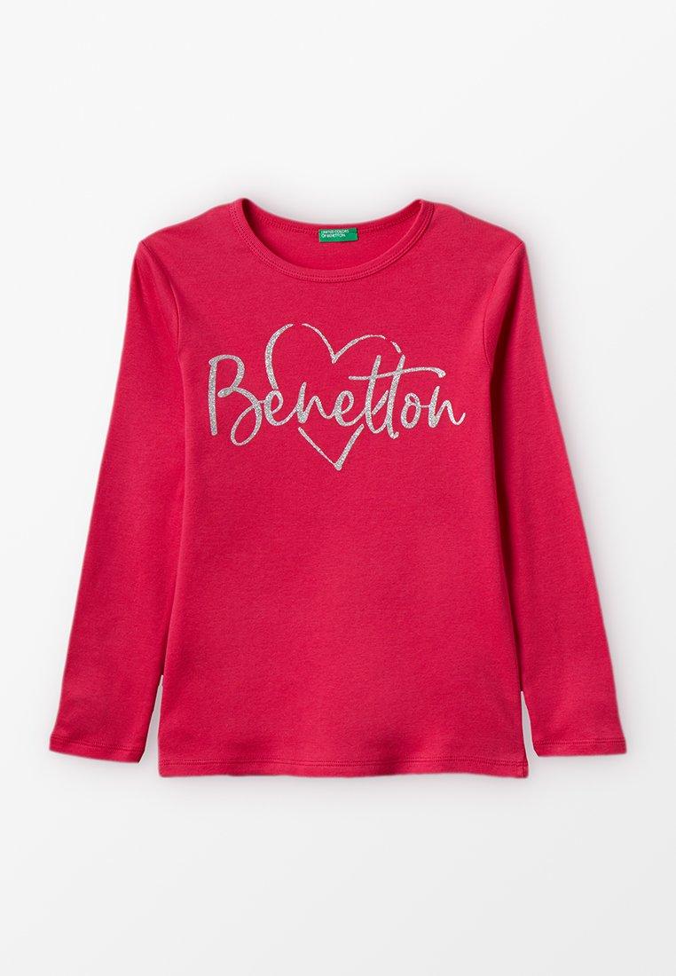 Benetton - BASIC - Camiseta de manga larga - pink