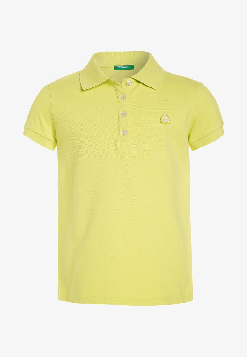 Benetton - BASIC - Polo - yellow