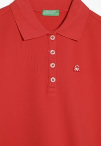 Benetton - BASIC - Polo - red - 3