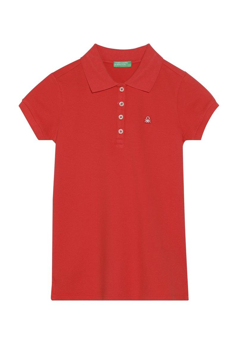 Benetton - BASIC - Poloshirt - red