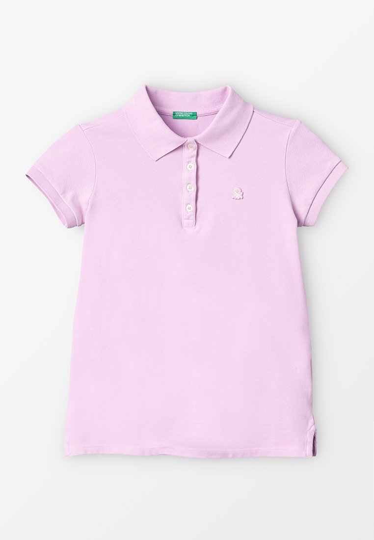 Benetton - BASIC - Polo - lilac