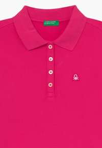 Benetton - BASIC - Polo - pink - 3