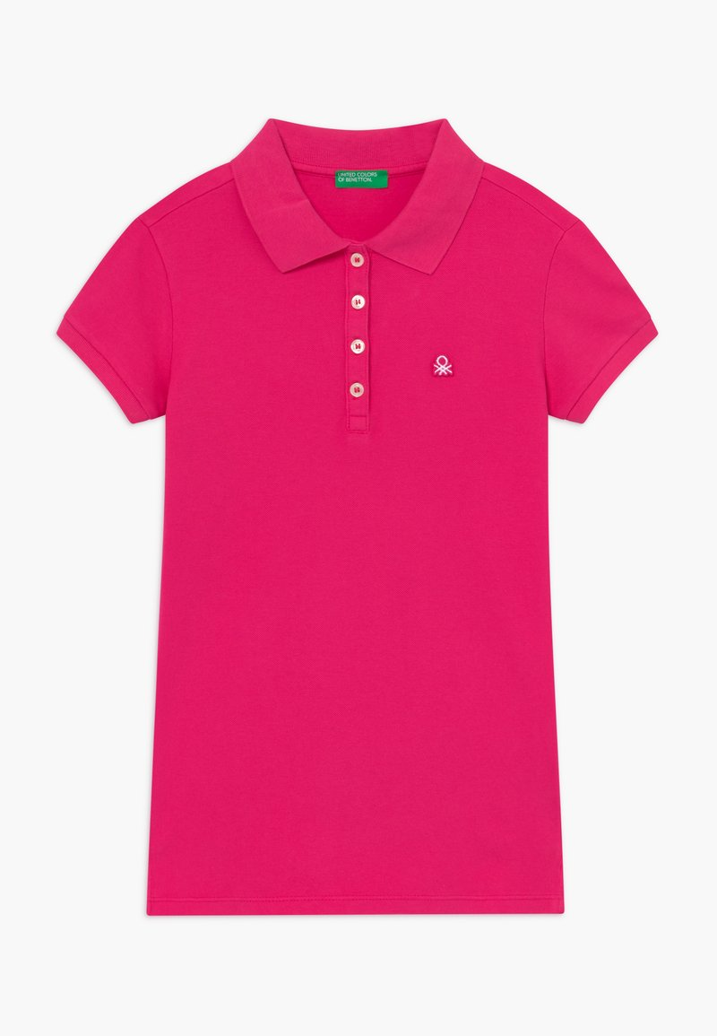 Benetton - BASIC - Polo - pink
