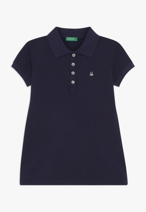 BASIC - Polo - dark blue/dark blue
