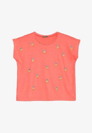 Camiseta estampada - neon pink