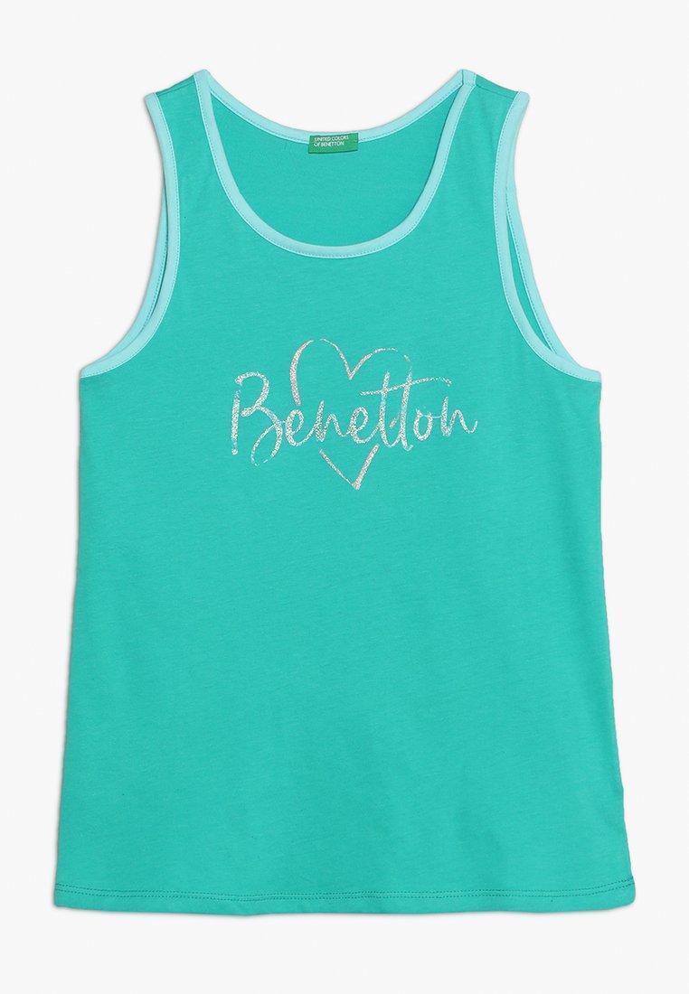 Benetton - TANK - Top - turquoise