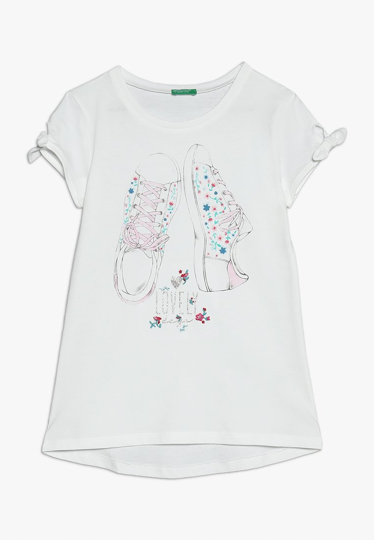 Benetton - T-Shirt print - white