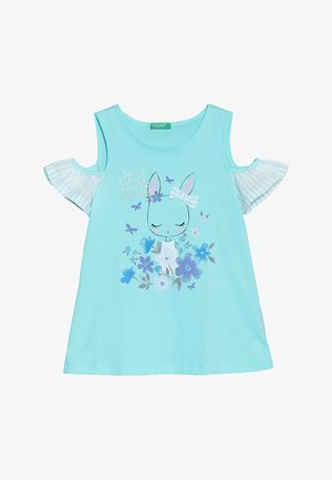 TANK - Print T-shirt - light blue
