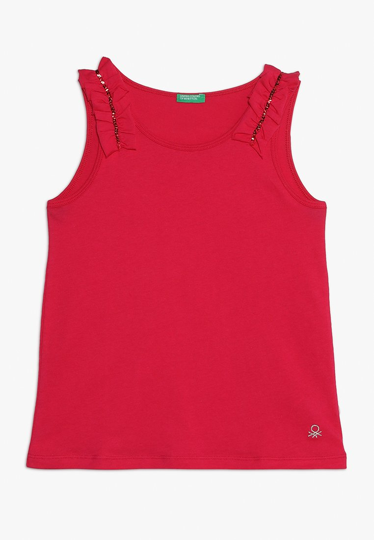 Benetton - TANK - Toppe - pink