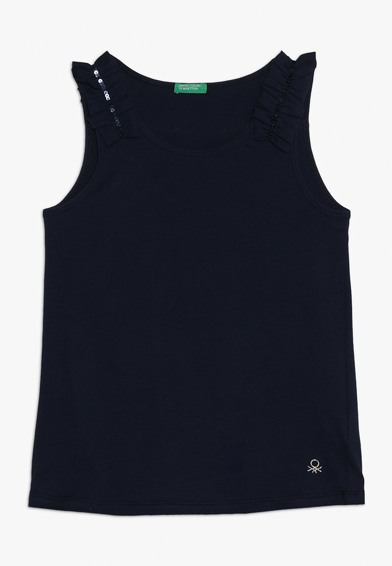 Benetton - TANK - Débardeur - dark blue