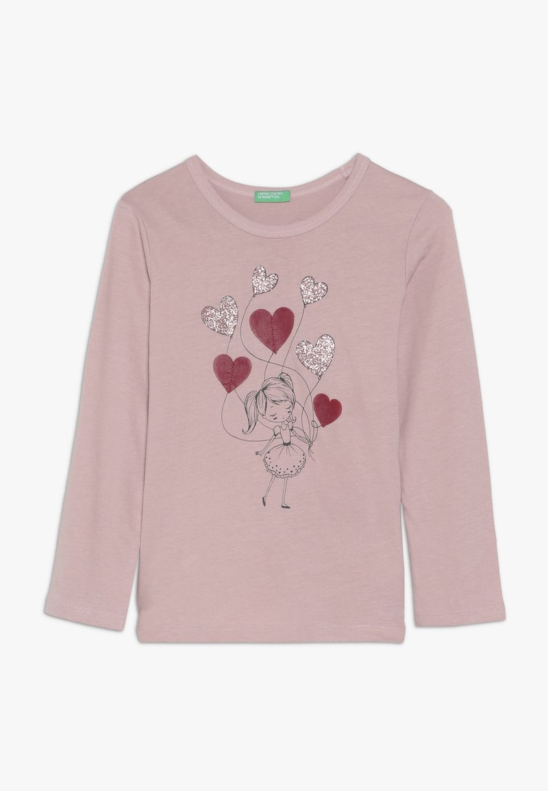 Benetton - Langærmede T-shirts - rose